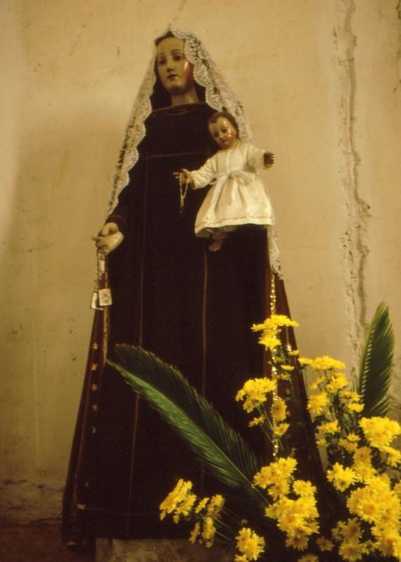 1987 Portugal - Vierge de l'église de Sétubal