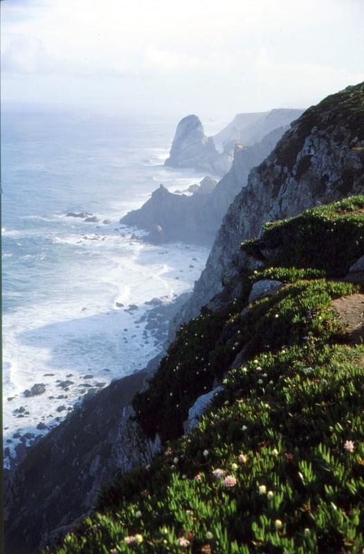 1987 Portugal - Vue depuis Cabo da Roca