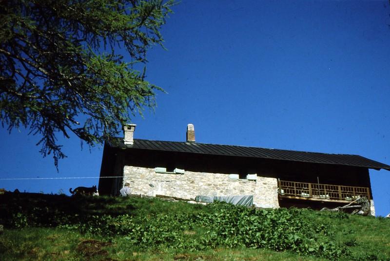 1984 Hautes-Alpes Montgenèvre Refuge de la Gimont