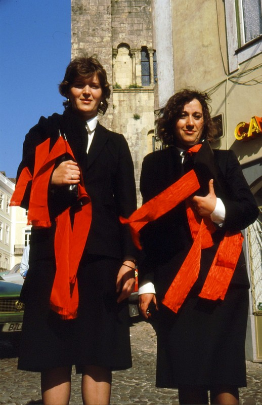 1987 Portugal - Coimbra ,Etudiantes