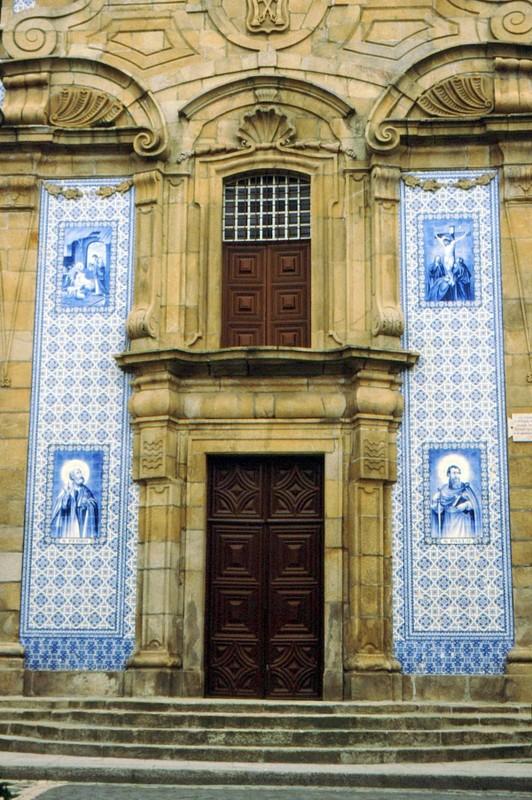 1987 Portugal Azulejos de St Pierre et Paul à Gouveia