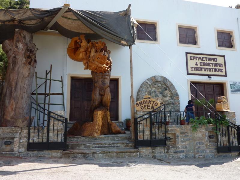 07-Musée du bois et sculpture à Axos