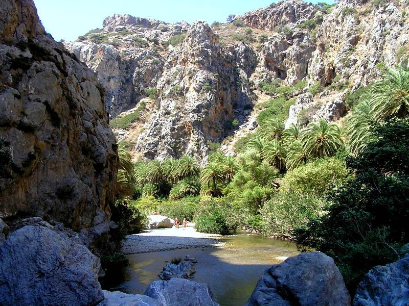 17- Canyon de Preveli avec palmeraie