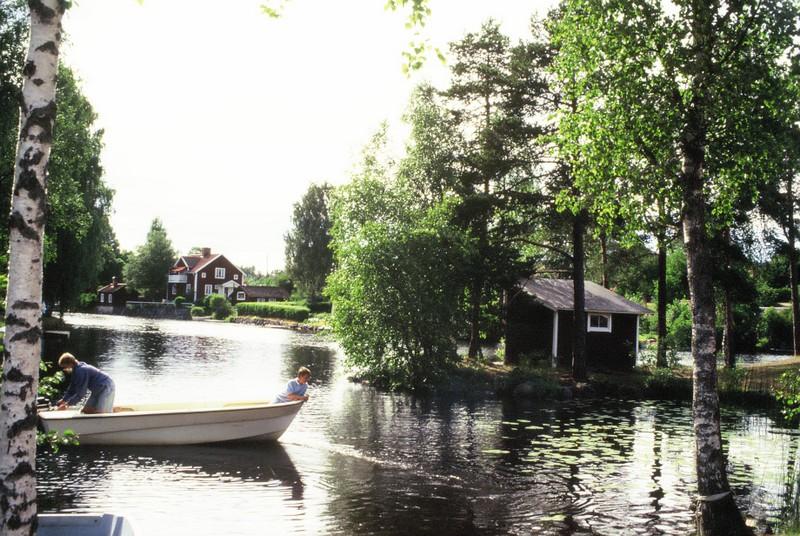 017 Village de la maison de Karl Larsson