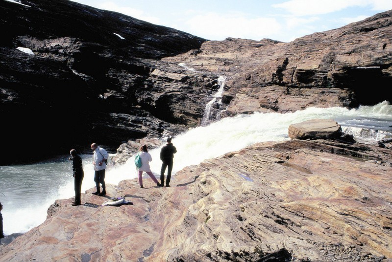 005- Svartisen - cascade du glacier
