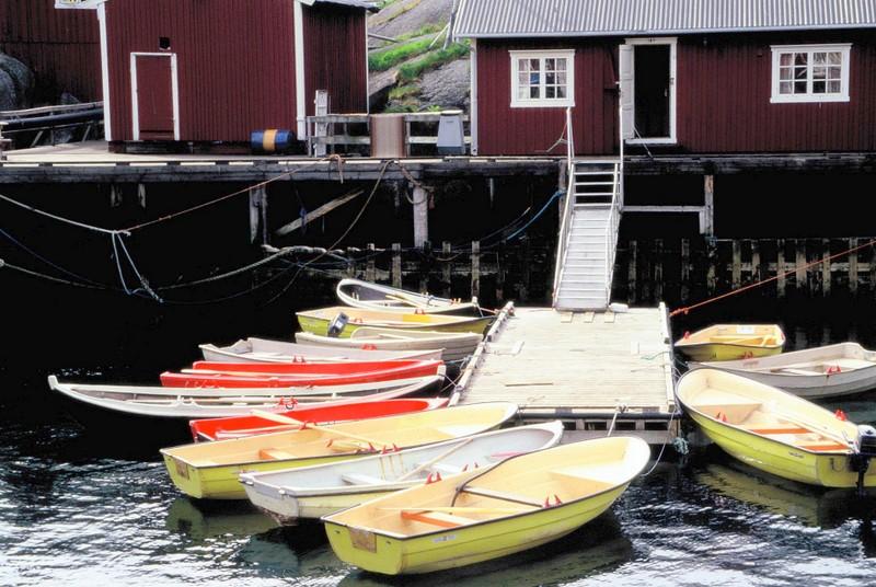 007- LOF Maison de pêcheur et barques de pêche