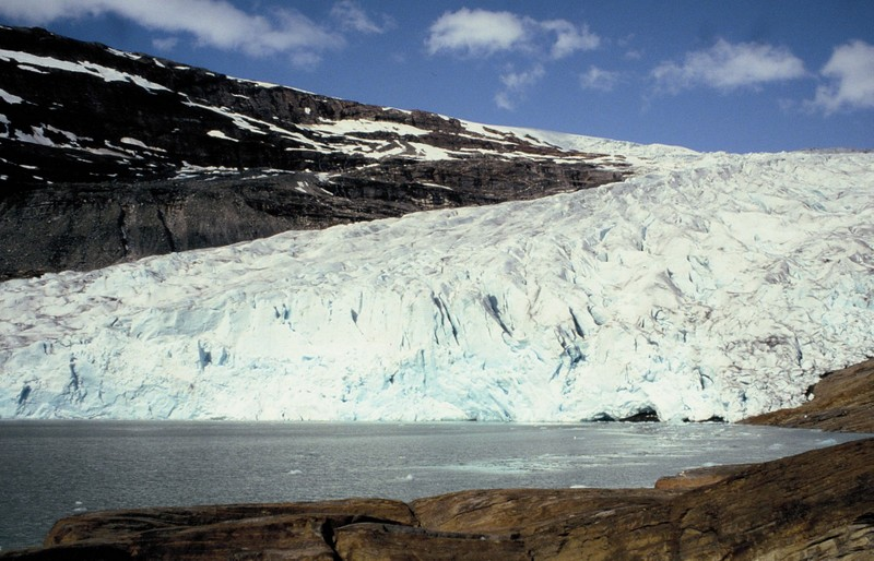 007-Svartisen - une langue glaciaire