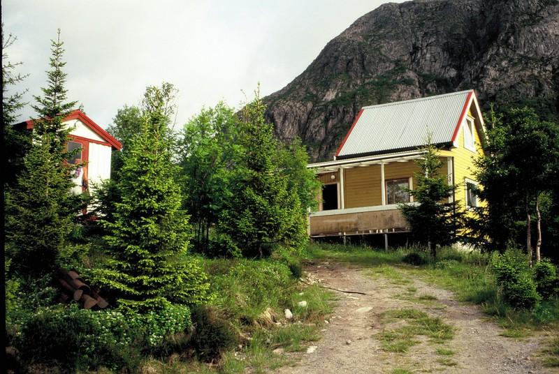 008 LOF Notre Hutte de Hammarstad près Svolvaer