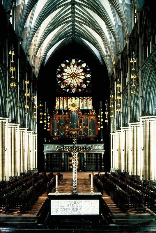 024- Intérieur de la cathédrale de Trondheim