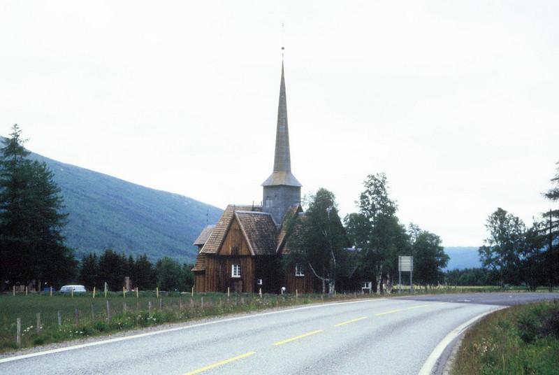 028- Eglise près de Kvinke