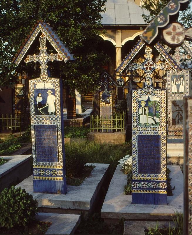 1993 09 Sapinta- cimetière 2