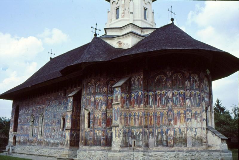 1993 26 Moldovita-le monastère