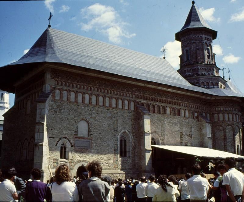 1993 50 Eglise du monastère de Neamt