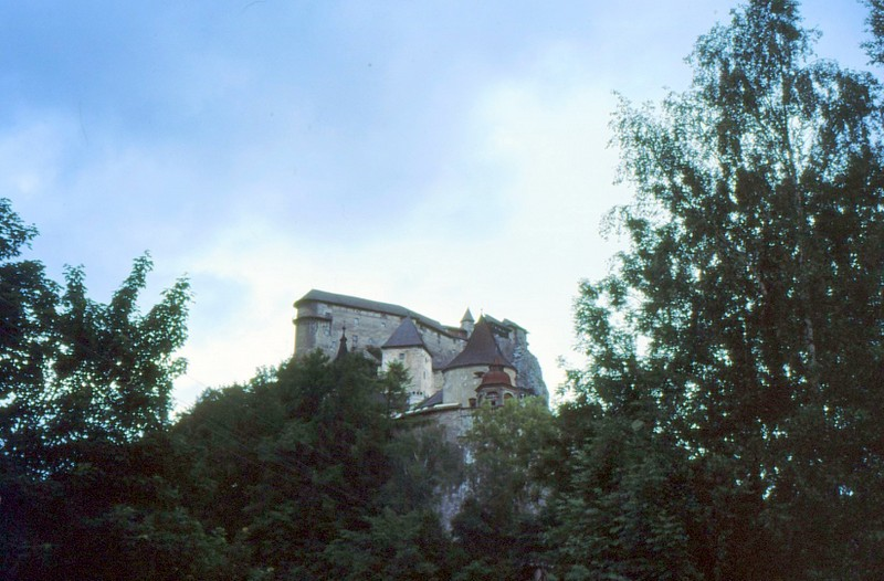 Oravski Hrad : château d'Orav