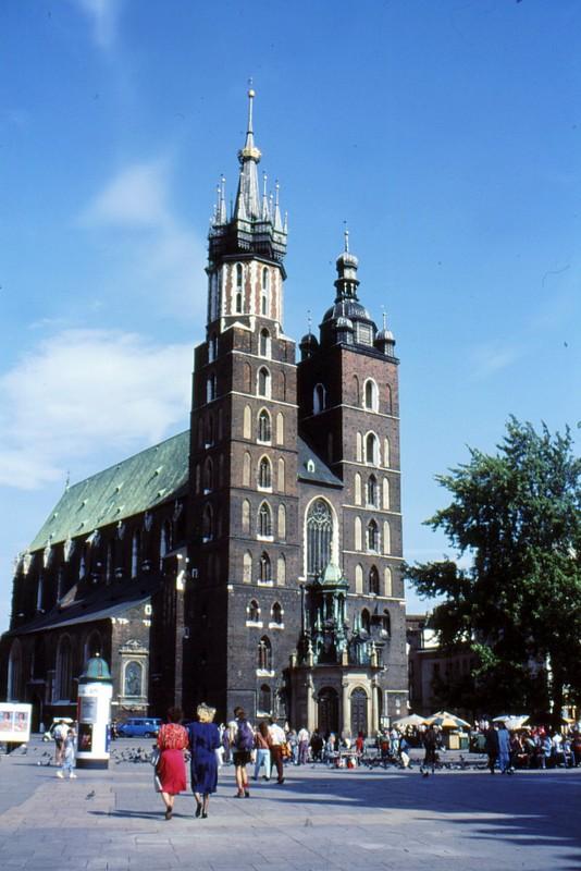 Cracovie : Notre-Dame