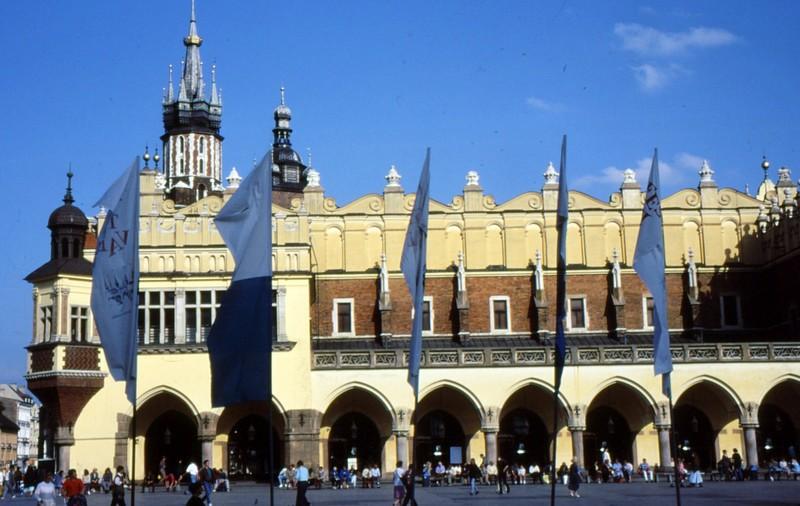 Cracovie : Halle aux draps