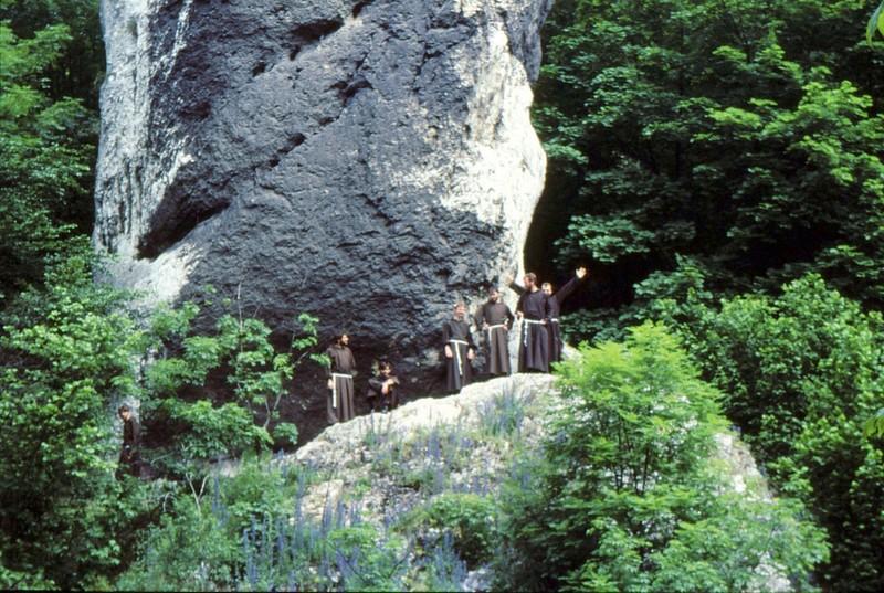 Jura souabe Massue d'Hercule : moines