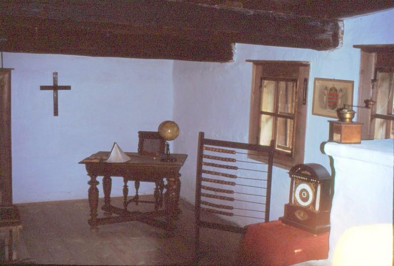 Musée ethnographique de Zuberec : école, autre coin de la classe