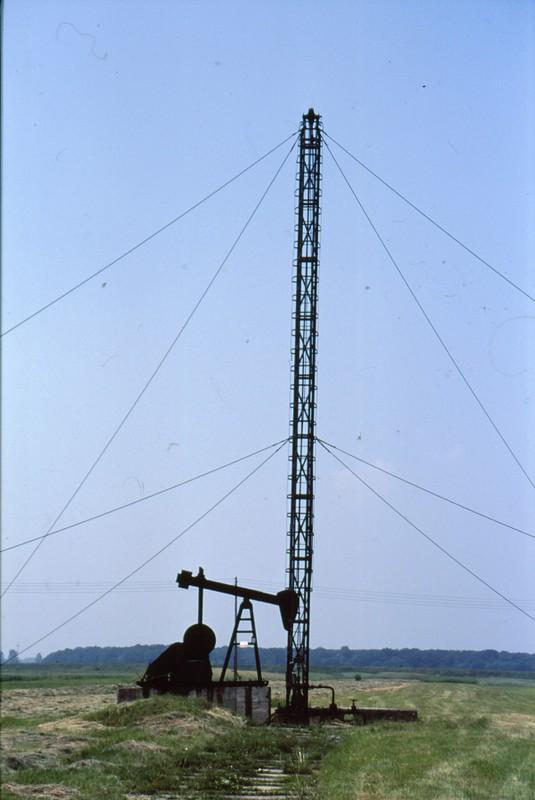 Région Tarnow : Puits à pétrole