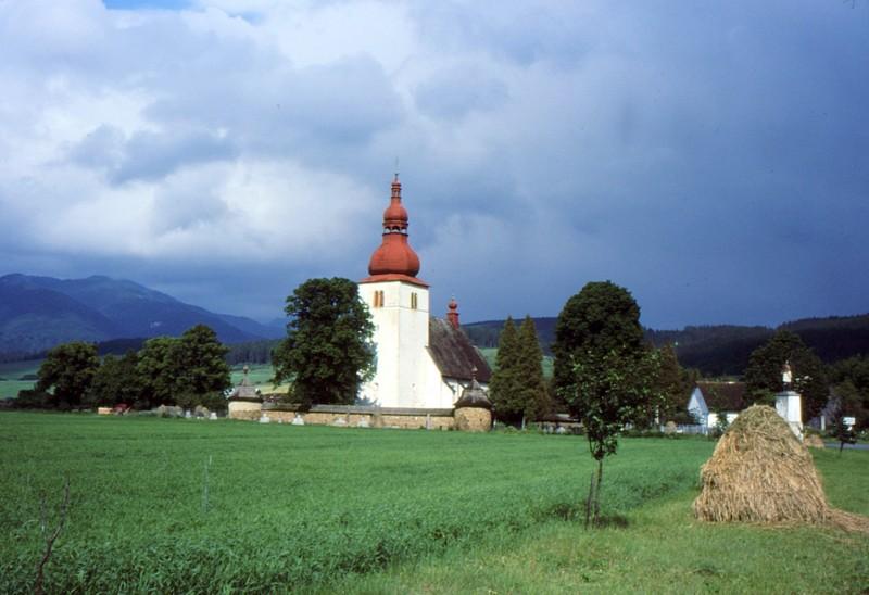 village près de Liptovski Mikulas