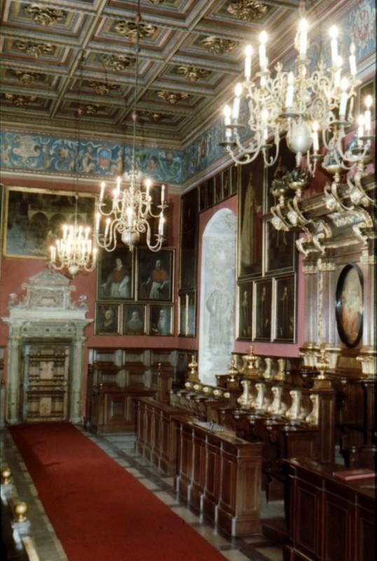 Collegium Maius hall de lassemblée à l'Université de Cracovie