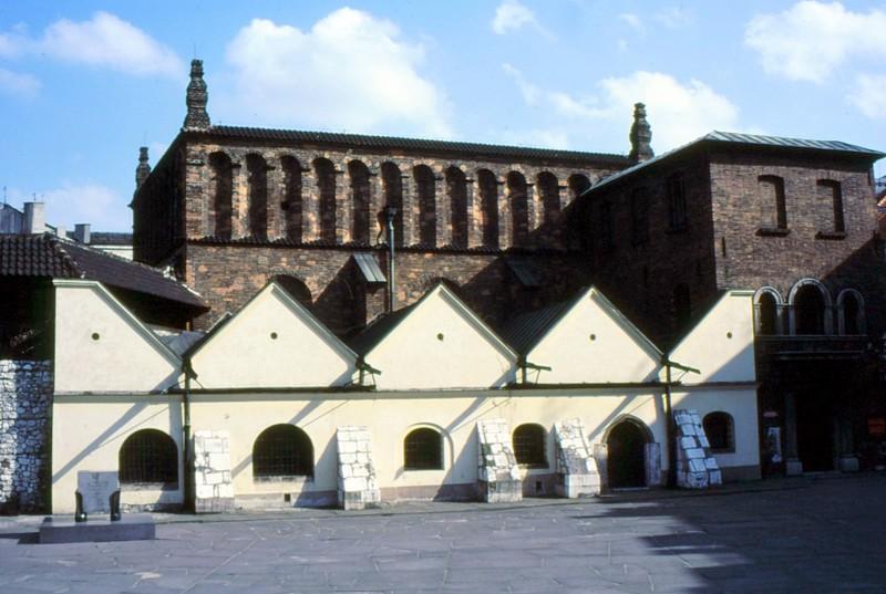 Cracovie : Cazimierz la plus vieille synagogue de Pologne