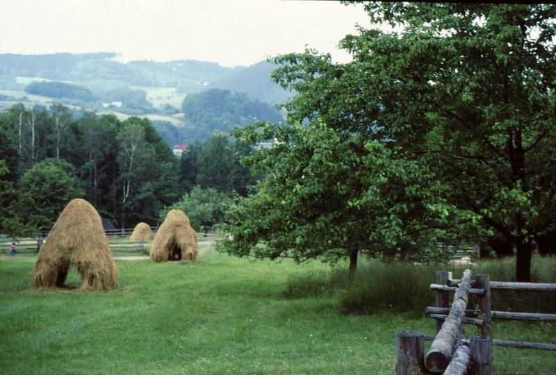 Musée folklorique : meules
