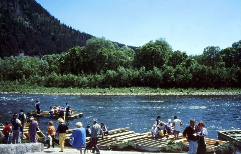 Embarcadère pour les gorges du Dunajec