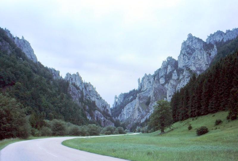 Route de Terchova à Vratna