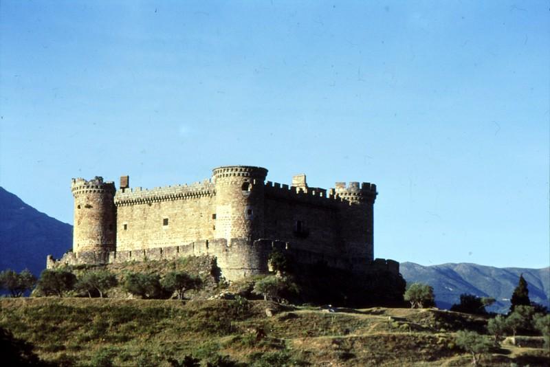 Château dans les environs d'Arenas