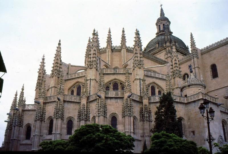 La cathédrale de Ségovie