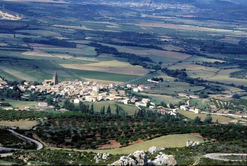 Vue depuis le Château de Loarre