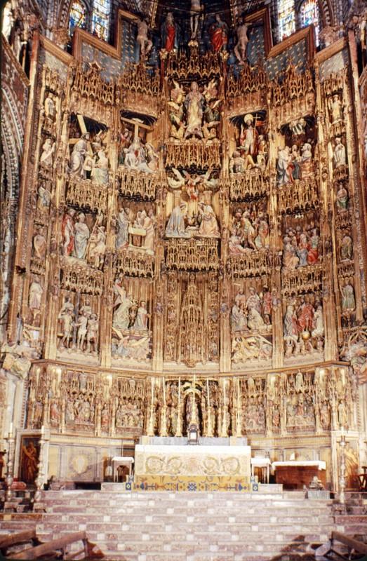 Retable du grand autel à Tolède