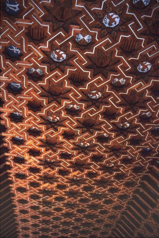 Plafond à la cathédrale de Tolède