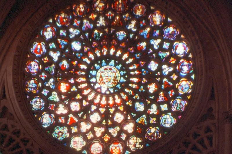 Rosace de la porte principale de la cathédrale de Tolède