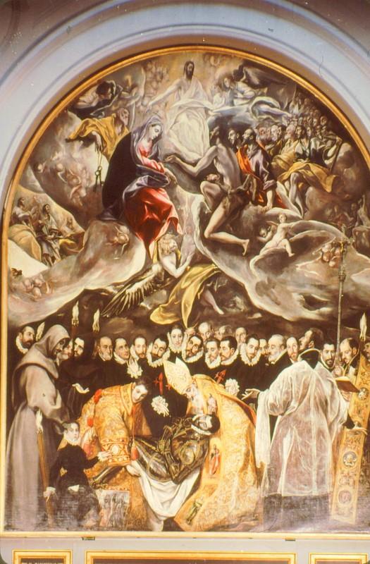 Santo Tomé Enterrement du comte d'Orgaz