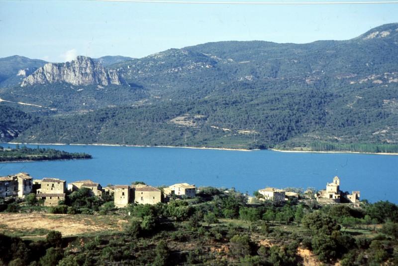 Barrage d'Ainsa