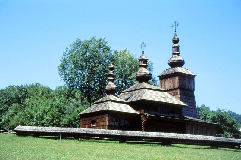 Svidnik : l'église du musée