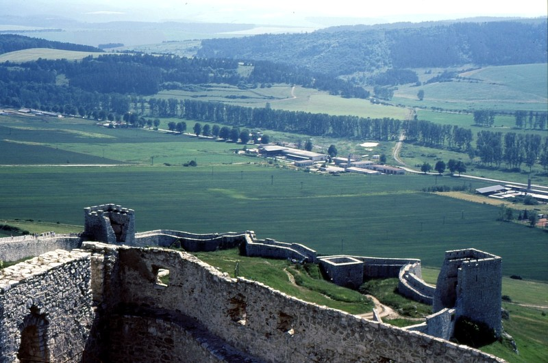 Château de Spissky : remparts