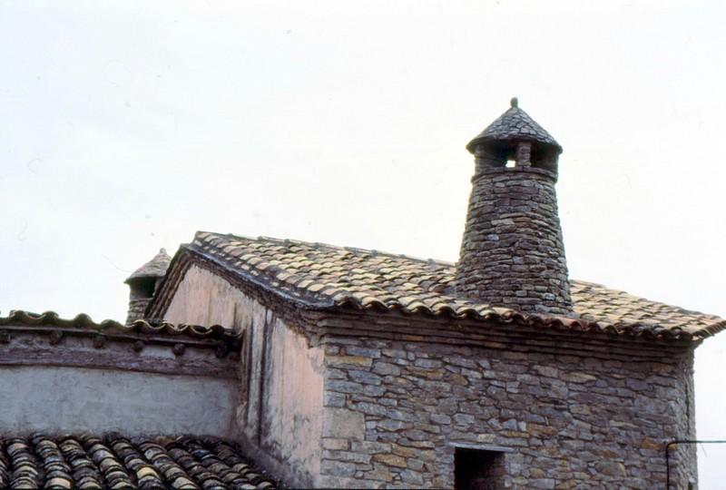 Cheminée aragonaise à Rodellar
