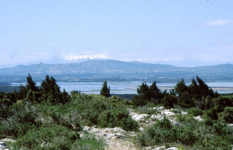 Une des vues depuis La Clape
