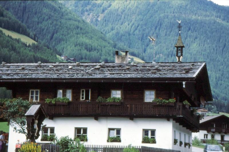 Maison typique de la Vallée Aurina