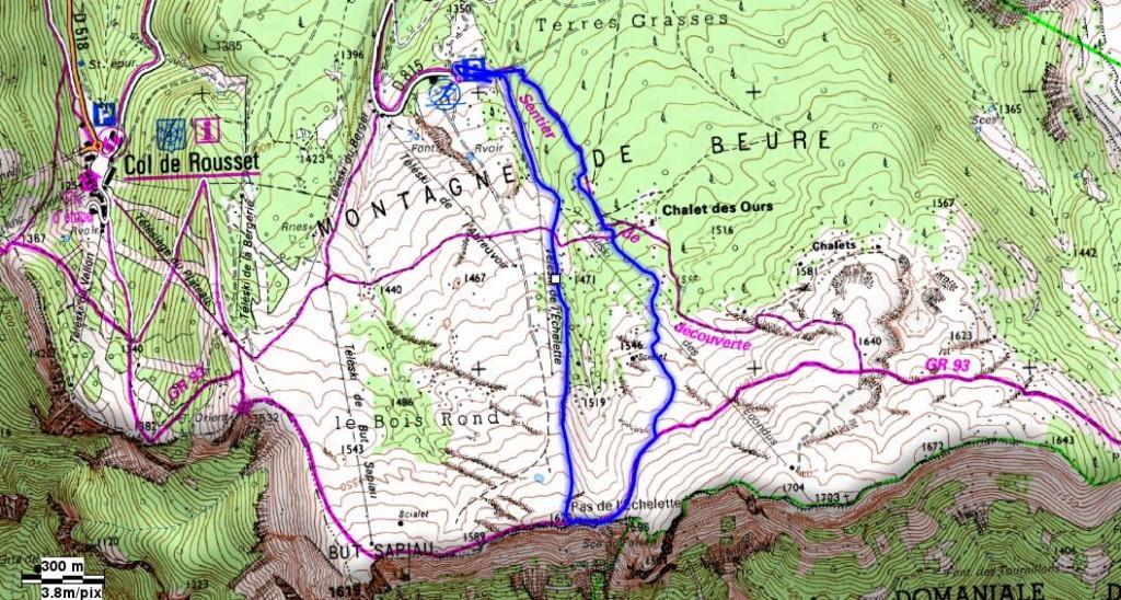 Randonnée à partir du Col du Rousset